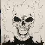 Ghost Rider Original by Todd Plumblee